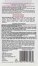 Ujędrniające hydrożelowe płatki pod oczy z liftingującym kolagenem - Eveline Cosmetics Collagen 8in1 Turbo Action Firming Hydrogel Eye Pads — фото N2