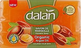 Kup Glicerynowe mydło z olejem arganowym - Dalan Savon De Marseille Glycerine Soap Organic Argan Oil