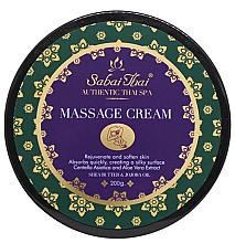 Kup Krem do masażu z olejem z otrębów ryżowych i aloesem - Sabai Thai Jasmine Massage Cream