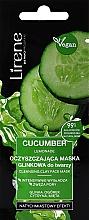 Kup Oczyszczająca maska z glinką do twarzy - Lirene Cucumber Lemonade Cleansing Clay Face Mask