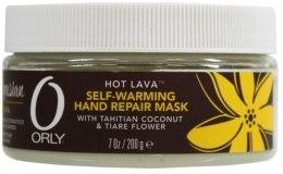 Kup Rozgrzewająca maska do rąk Kokos i gardenia tahitańska - Orly Hot Lava Self-Warming Hand Repair Mask