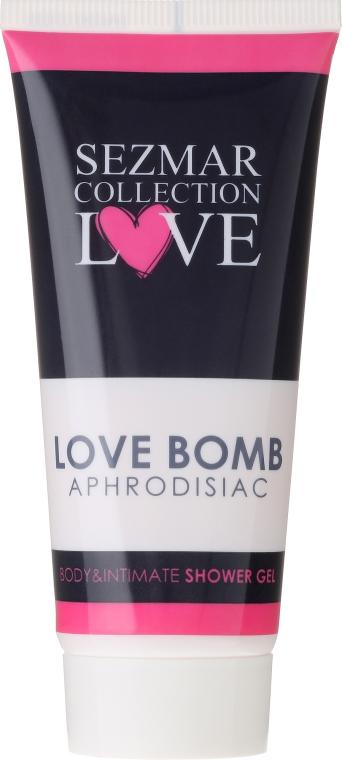 Afrodyzjakowy żel pod prysznic i do higieny intymnej - Sezmar Collection Love Aphrodisiac Shower Gel Love Bomb — фото N1