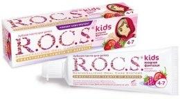 Kup Smakowa pasta do zębów dla dzieci - R.O.C.S. Kids Raspberry and Strawberry