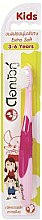 Kup Ultramiękka szczoteczka do zębów dla dzieci, różowa - Twin Lotus Dok Bua Ku Kids Toothbrush ExtraSoft