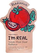 Kup Maseczka do twarzy na tkaninie Pomidor - Tony Moly I'm Real Tomato Mask Sheet