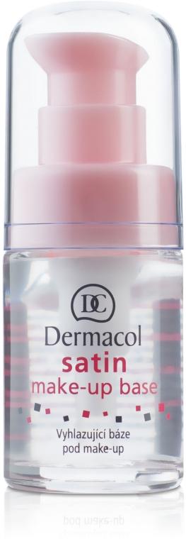 Matująca baza wygładzająca pod makijaż - Dermacol Satin Make-Up Base