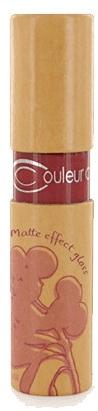 Matowy błyszczyk do ust - Couleur Caramel Matte Effect Lip Gloss — фото N1