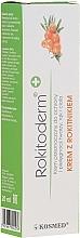 Krem do pielęgnacji skóry z rokitnikiem - Kosmed Rokitoderm — фото N1