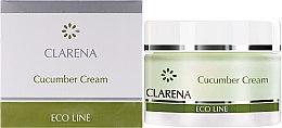 Kup Oczyszczający krem do twarzy z ogórkiem - Clarena Eco Line Cucumber Cream