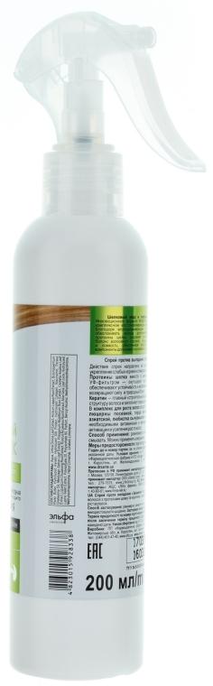 Spray przeciw wypadaniu włosów Wzmocnienie i wzrost - Dr. Sante Silk Care Spray — фото N2