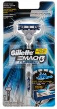 Kup Maszynka do golenia z 1 wymiennym ostrzem - Gillette Mach 3 Turbo