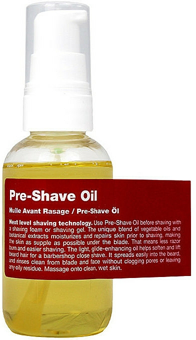 Zmiękczający olejek do brody przed goleniem - Recipe For Men Pre-Shave Oil — фото N1