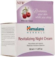 Rewitalizujący krem do twarzy na noc Biała lilia i pomidor - Himalaya Herbals Revitalizing Night Cream — фото N2