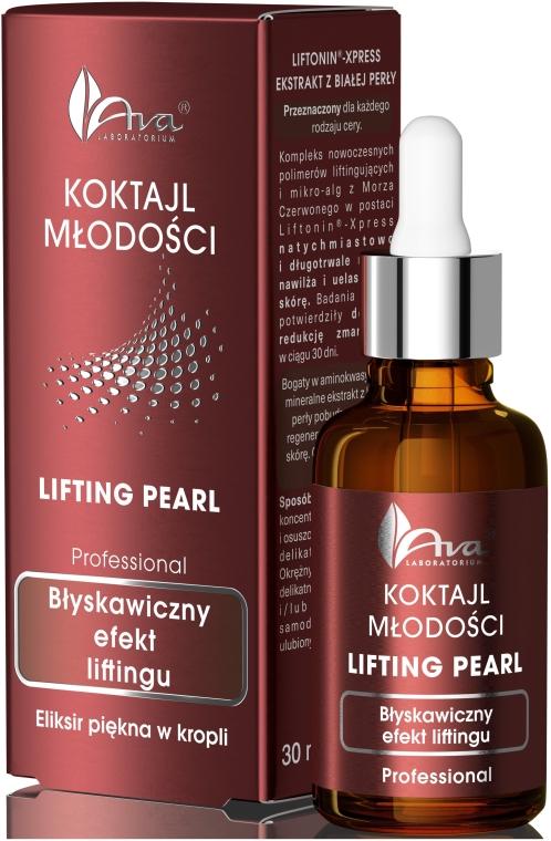 Eliksir piękna w kropli do twarzy Błyskawiczny efekt liftingu - AVA Laboratorium Professional Koktajl młodości Lifting Pearl