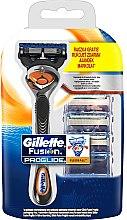 Kup Maszynka do golenia + 3 wymienne wkłady - Gillette Fusion ProGlide FlexBall