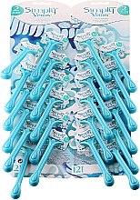 Kup Jednorazowe maszynki do golenia blister, 24 szt. - Gillette Simly Venus 2 Satin Care