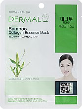 Kup Kolagenowa esencjonalna maseczka do twarzy Bambus - Dermal Bamboo Collagen Essence Mask