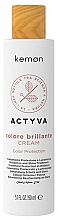 Kup Krem ochronny do włosów farbowanych - Kemon Actyva Colore Brilliante Cream Color Protection
