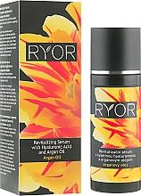 Kup Serum rewitalizujące do twarzy z kwasem hialuronowym i olejem arganowym - Ryor Revitalizing Serum With Hyaluronic Acid And Argan Oil