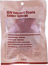 Kup Gąbka konjac z pyłem wulkanicznym - Purito Jeju Volcanic Scoria Konjac Sponge