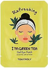 Kup Żelowe płatki pod oczy z zieloną herbatą - Tony Moly Refreshing Im Green Tea Eye Mask