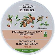 Kup Przeciwzmarszczkowy krem tłusty Argan - Green Pharmacy Anti-Wrinkle Ultra Rich Cream
