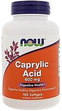 Kup Kwas kaprylowy 600 mg na zdrowe trawienie - Now Foods Caprilyc Acid