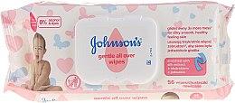 Kup Chusteczki hipoalergiczne, 56 szt. - Johnson's Baby Wipes