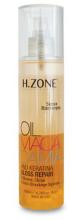 Kup Nabłyszczający spray naprawczy do włosów z olejem makadamia i keratyną - H.Zone Oil Macadamia And Keratina Gloss Repair