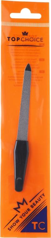 Pilnik szafirowy do paznokci, 12.5 cm, 7200, czarny - Top Choice — фото N1