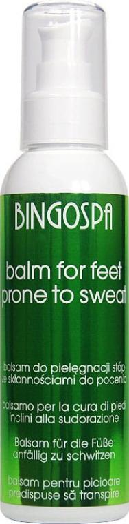 Balsam do stóp ze skłonnościami do pocenia - BingoSpa Balm For Feet Prone To Sweat