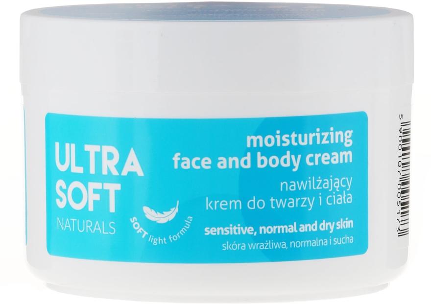 Nawilżający krem do twarzy i ciała - Ultra Soft Naturals