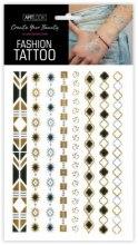 Kup Metaliczne tatuaże do ciała Ornament 2 - Art Look