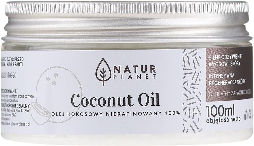 Nierafinowany olej kokosowy - Natur Planet Coconut Oil