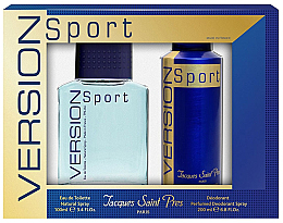 Kup Ulric de Varens Jacques Saint Pres Version Sport - Zestaw (edt 100 ml + deo/spray 200 ml)