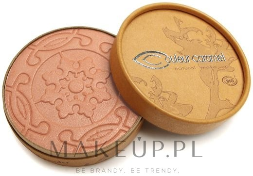Puder brązujący - Couleur Caramel Compact Bronzer — фото 21 - Pearly Rosy Brown