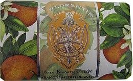 Kup Mydło w kostce Śródziemnomorski pomarańcza - La Florentina Mediterranean Orange Bath Soap