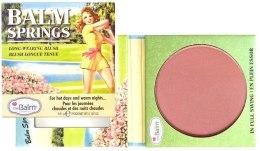 Kup Długotrwały róż do policzków - theBalm Balm Springs Long-Wearing Blush