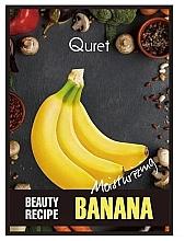 Kup Nawilżająca maska do twarzy - Quret Beauty Recipe Mask Banana Moisturizing