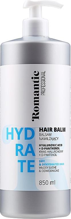 Balsam do włosów suchych z kwasem hialuronowym i D-panthenolem - Romantic Professional Hydrate Hair Balm