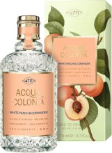 Kup Maurer & Wirtz 4711 Acqua Colonia White Peach & Coriander - Woda kolońska