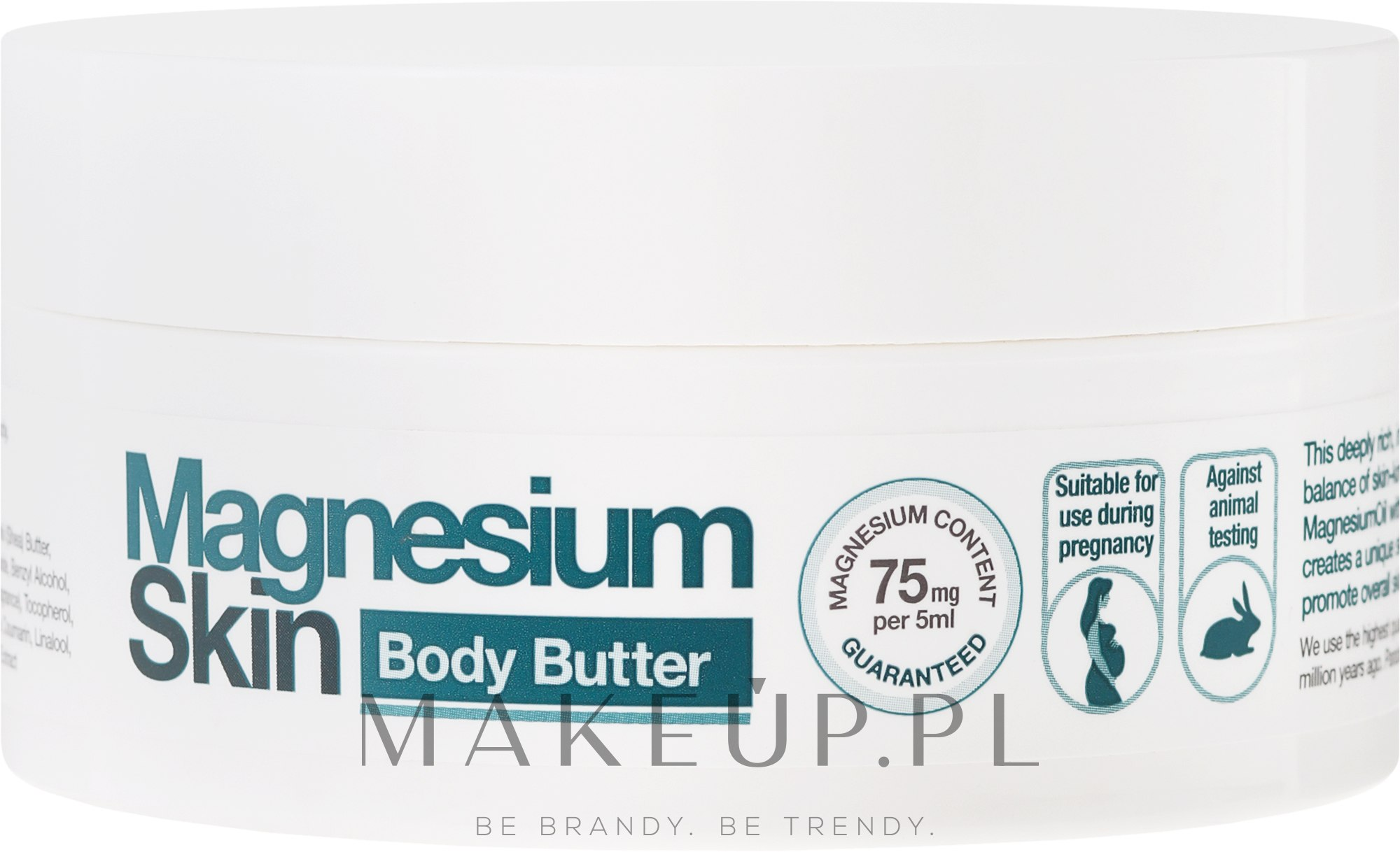 Magnezowe masło do ciała - BetterYou Magnesium Body Butter — фото 200 ml