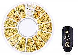 Kup Złote ozdoby do paznokci - Deni Carte Nail Art Decorations