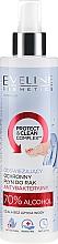 Kup Odświeżający ochronny płyn antybakteryjny do rąk z 70% alkoholem - Eveline Cosmetics Handmed+ Protect & Clean Complex