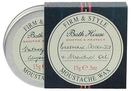 Wosk do stylizacji wąsów - Bath House Menthol Snorwax — фото N1