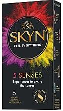 Kup Prezerwatywy, 5 szt. - Unimil Skyn 5 Senses