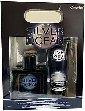 Kup Omerta Silver Ocean - Zestaw (woda toaletowa/100ml + żel pod prysznic/100ml)
