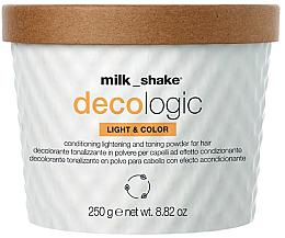Kup Rozjaśniający puder do włosów - Milk Shake Decologic Light & Colour Intense Copper