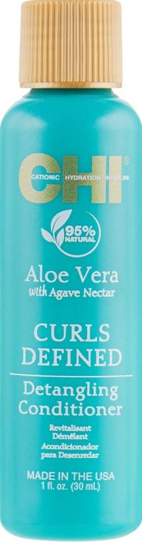 Odżywka do kręconych włosów - CHI Aloe Vera Detangling Conditioner