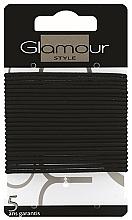 Kup Gumki do włosów, 414933, czarne - Glamour
